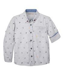 Camisas-Ropa-bebe-nino-Gris