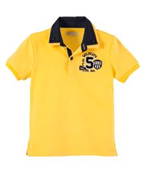 Camisetas-Ropa-bebe-nino-Amarillo