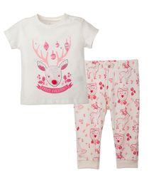 Pijamas-Ropa-recien-nacido-nino-Rojo