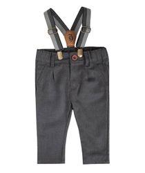 Jeans-y-Pantalones-Ropa-recien-nacido-nino-Gris