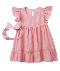 Vestidos-Ropa-recien-nacido-nina-Rosado