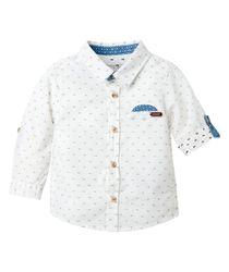 Camisas-Ropa-recien-nacido-nino-Blanco