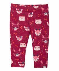 Jeans-y-Pantalones-Ropa-recien-nacido-nina-Rojo