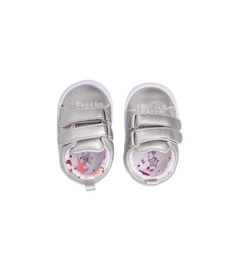 Zapatos-Ropa-recien-nacido-nina-Gris