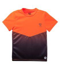 Camiseta-deportiva-Ropa-bebe-nino-Naranja