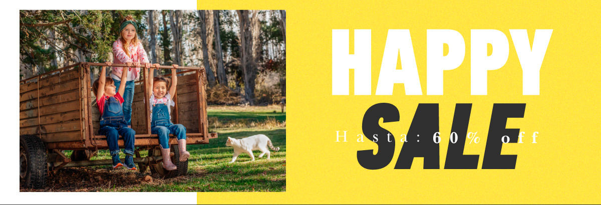 HAPPY SALE HASTA 60% OFF