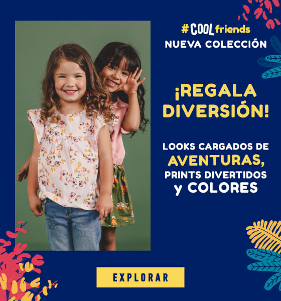 Looks cargados de AVENTURAS, prints divertidos y colores