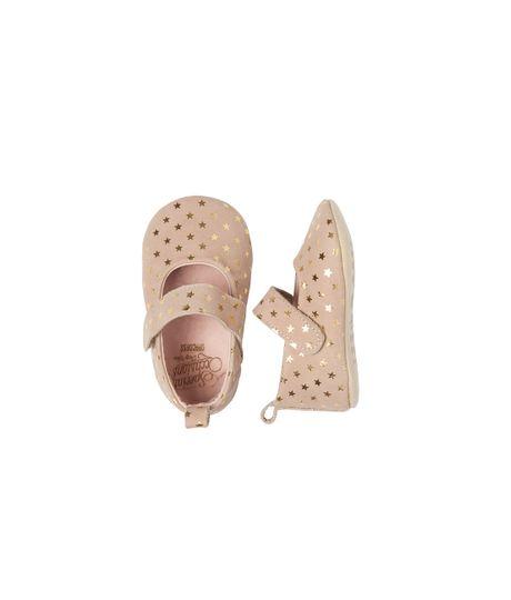 Zapatos-Ropa-recien-nacido-nina-Amarillo
