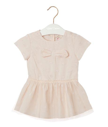 Vestidos-Ropa-recien-nacido-nina-Amarillo