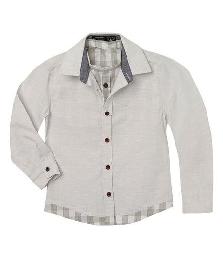 Camisas-Ropa-bebe-nino-Blanco