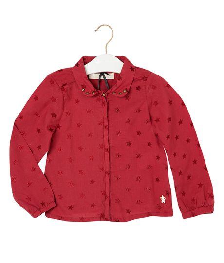 Camisas-Ropa-bebe-nina-Rojo