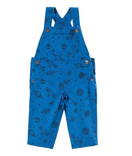 Overall-Ropa-recien-nacido-nino-Azul