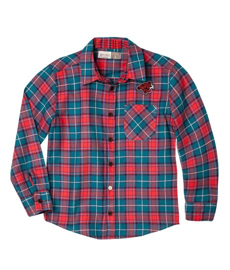 Camisas-Ropa-nino-Rojo