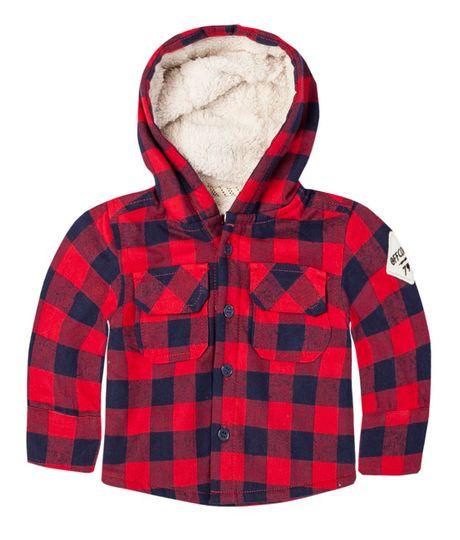 Buzos-y-chaquetas-Ropa-recien-nacido-nino-Rojo