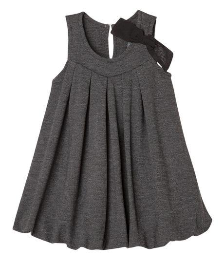 Vestidos-Ropa-bebe-nina-Gris