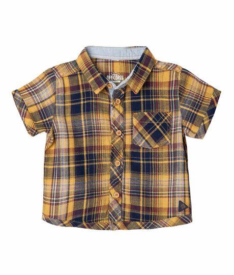 Camisas-Ropa-recien-nacido-nino-Cafe