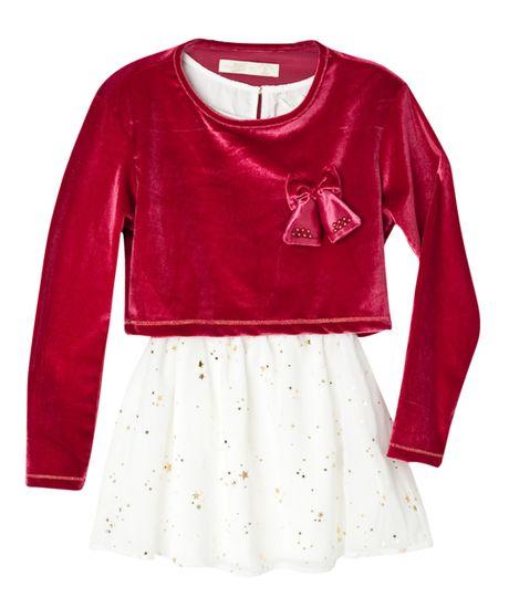 Vestidos-Ropa-nina-Rojo