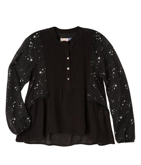 Camisas-Ropa-nina-Negro
