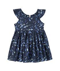 Vestidos-Ropa-recien-nacido-nina-Azul