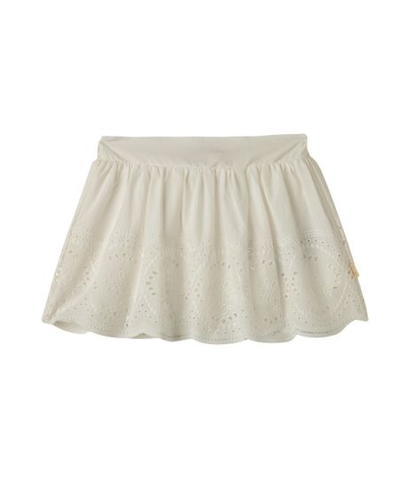 Faldas-y-shorts-Ropa-recien-nacido-nina-Blanco