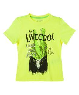 Camisetas-Ropa-bebe-nino-coral-Neon
