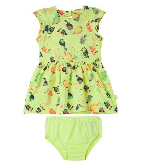 Vestidos-Ropa-recien-nacido-nina-coral-Neon