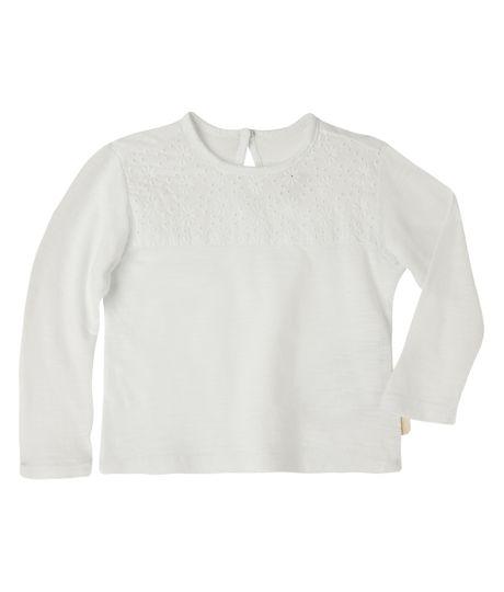 Camisetas-Ropa-recien-nacido-nina-Blanco