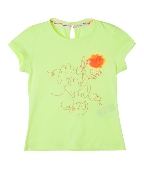 Camisetas-Ropa-bebe-nina-coral-Neon