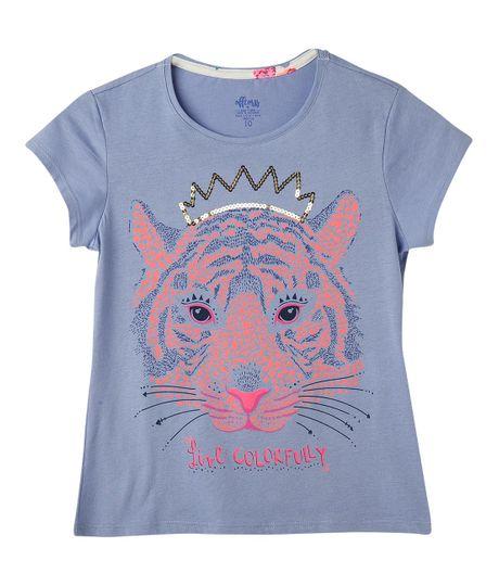Camisetas-Ropa-nina-Violeta