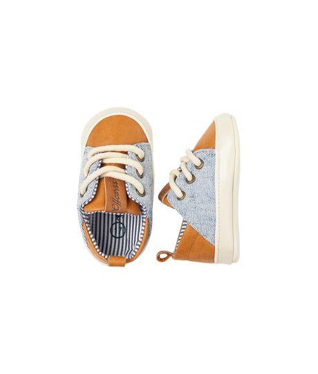 Zapatos-Ropa-recien-nacido-nino-Amarillo