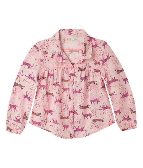 Camisas-Ropa-bebe-nina-coral-Neon