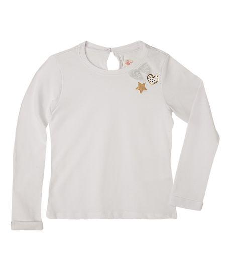 Camisetas-Ropa-bebe-nina-Blanco