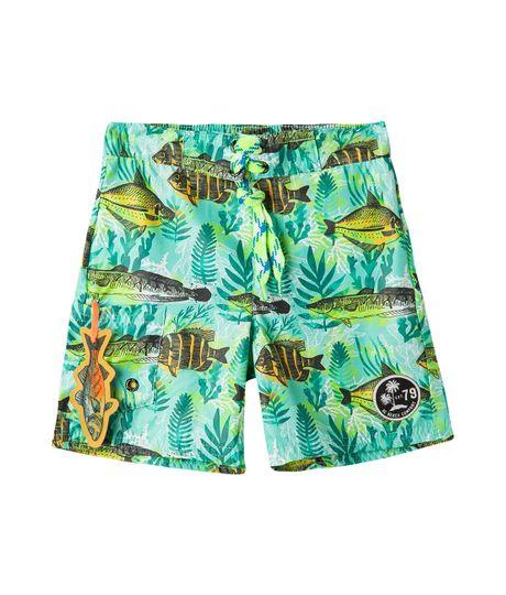 Bermudas-pantalonetas-Ropa-bebe-nino-Turquesa