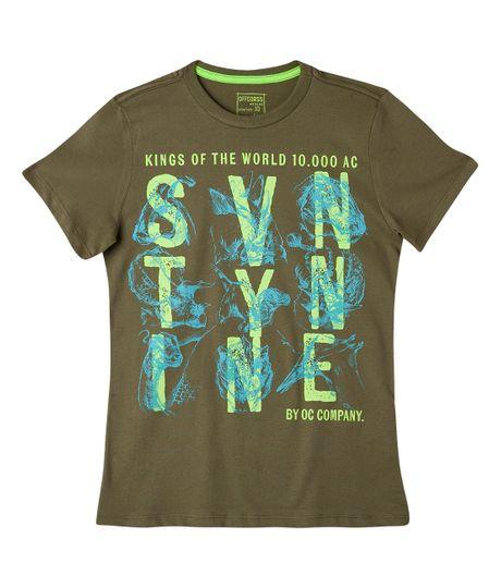 Camisetas-Ropa-nino-Verde