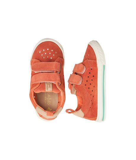 Zapatos-Ropa-bebe-nina-coral-Neon