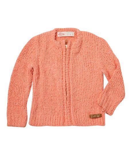 Buzos-y-chaquetas-Ropa-recien-nacido-nina-Naranja