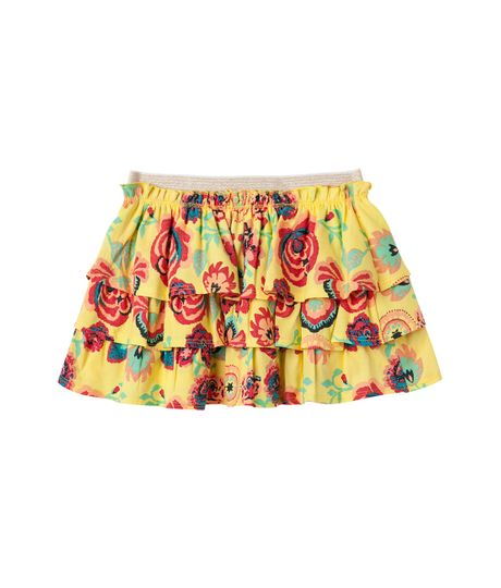 Faldas-y-shorts-Ropa-bebe-nina-Amarillo