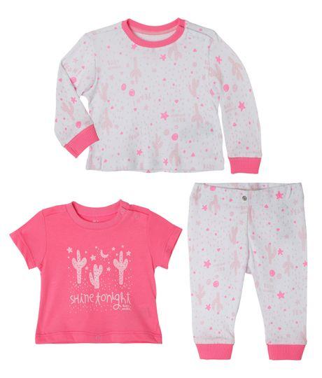 Pijamas-Ropa-recien-nacido-nina-Blanco