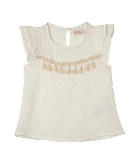 Camisas-Ropa-bebe-nina-Blanco