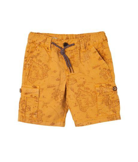 Bermudas-pantalonetas-Ropa-bebe-nino-Amarillo