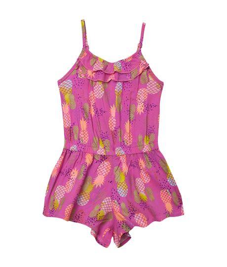 Overall-Ropa-bebe-nina-rosado-neon