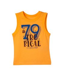Camisetas-Ropa-recien-nacido-nino-Naranja