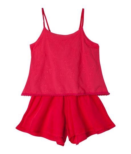 Overall-Ropa-nina-Rojo