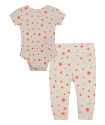 Pijamas-Ropa-recien-nacido-nina-coral-neon