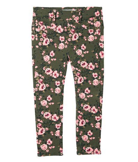 Jeans-y-Pantalones-Ropa-bebe-nina-Verde