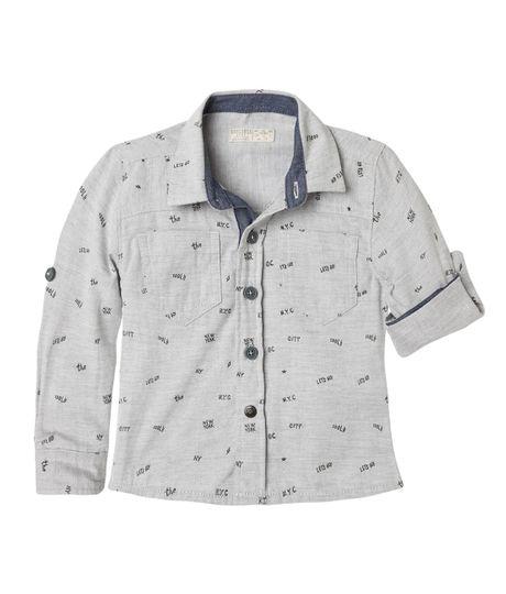 Camisas-Ropa-bebe-nino-Gris-Jaspe