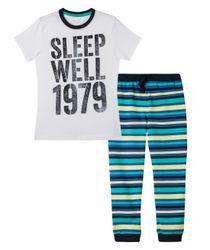 Pijamas-Ropa-nino-Blanco