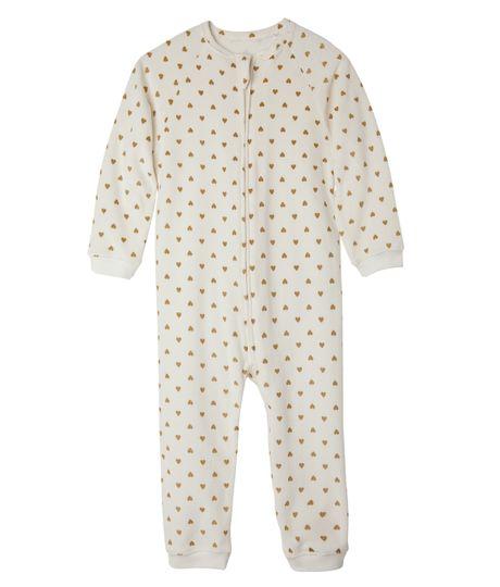 Pijamas-Ropa-bebe-nina-Beige