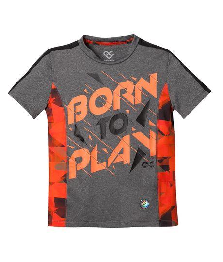 Camisetas-Ropa-bebe-nino-Gris-Jaspe