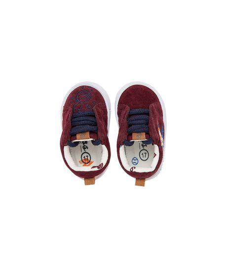 Zapatos-Ropa-recien-nacido-nino-Violeta